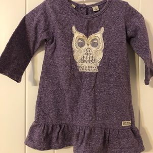 Mexx baby dress 3-6 month purple